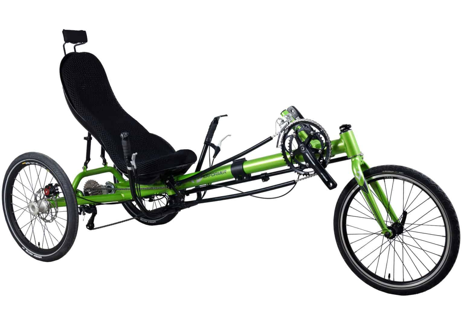 Performer recumbent Trike Futuro tricycle couché