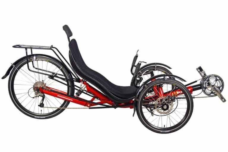 Performer trike-rear suspension JC26x couche suspendu