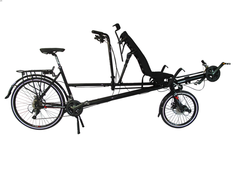 Tandem mixte couché Performer 2wd