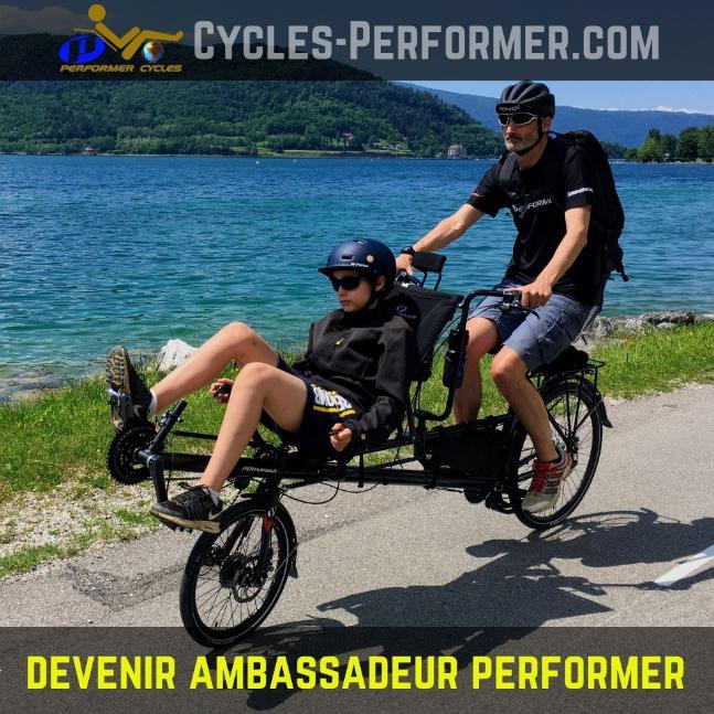 Devenir ambassadeur Performer 2WD